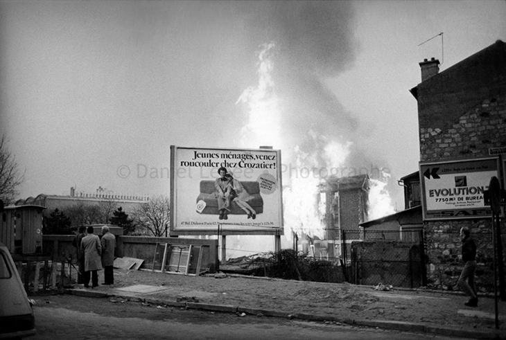1970 - Paris, Incendie, 75019