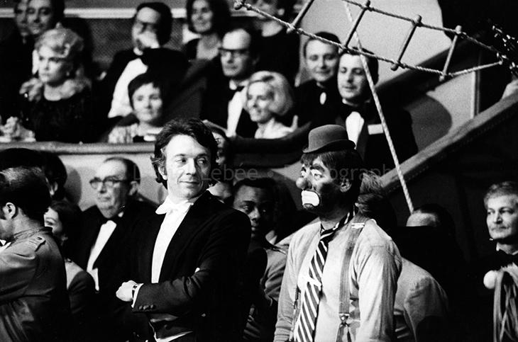 1971 - Gala de l'Union des Artistes, Jean-Pierre Cassel et Jerry Lewis