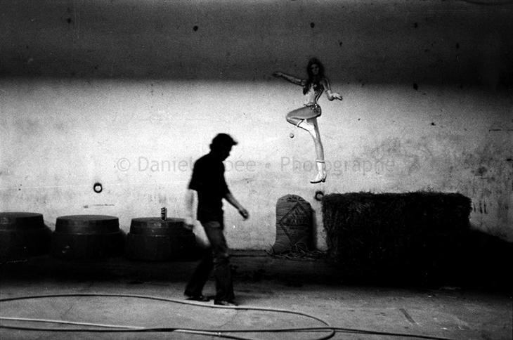 1972 - Gala de l'Union des Artistes, Dans la ménagerie de Bouglione