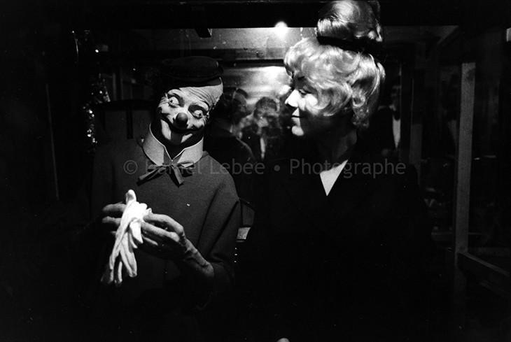 1972 - Gala de l'Union des Artistes, Pierre Etaix et Annie Fratellini
