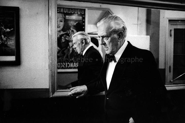 1974 - Gala de l'Union des Artistes, Jacques Tati