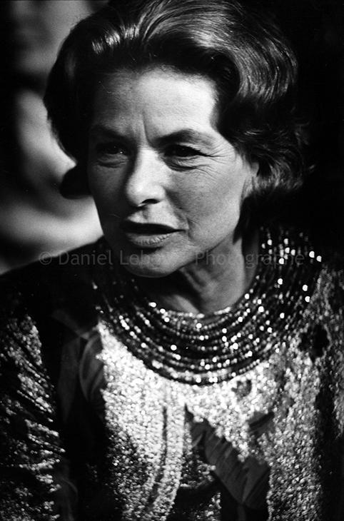 1975 - Gala de l'Union des Artistes, Ingrid Bergman