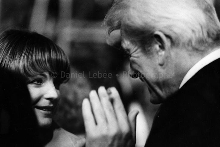 1975 - Gala de l'Union des Artistes, Romy Schneider et Jean Marais