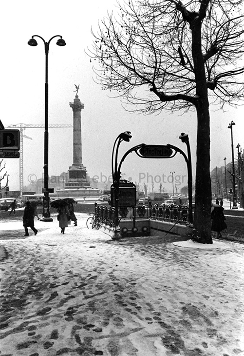 1986 - Paris, Place de la Bastille, 75011