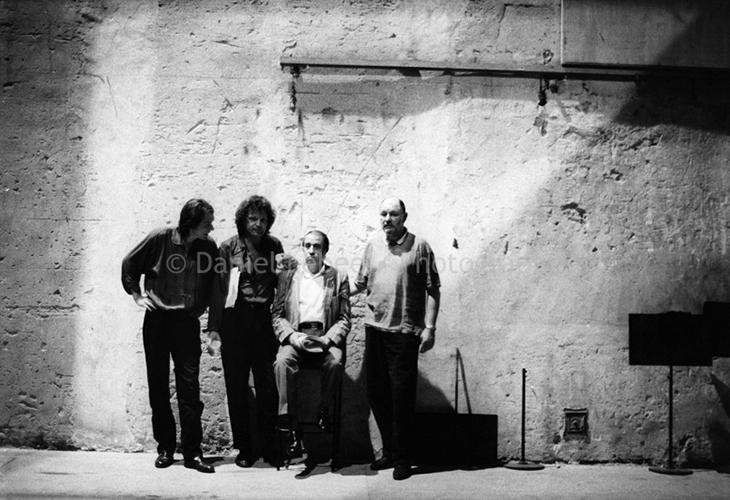 1987 - Jazz, Jean-Francois Jenny Clark Martial Solal Joachim Kuhn Daniel Humair, au théatre de Montpellier