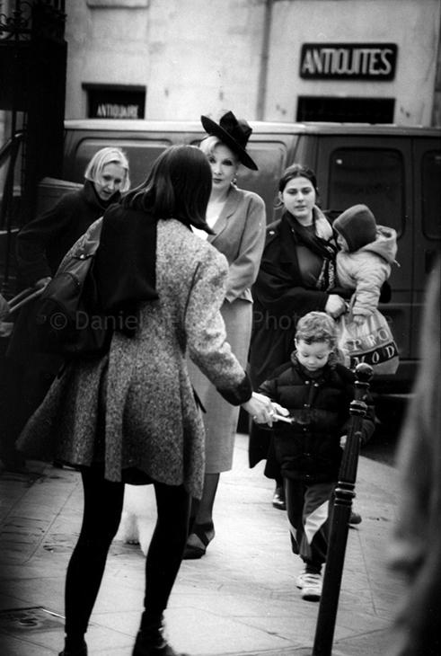 1987 - Paris, Rue du Parc Royal, 75004