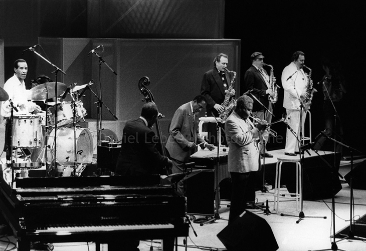 1989 - Jazz, Max Roach Percy Heath Milt Jackson Stan Getz Dizzy Gillespie Phil Woods Jacky Mc Lean, Halle That Jazz à la Villette