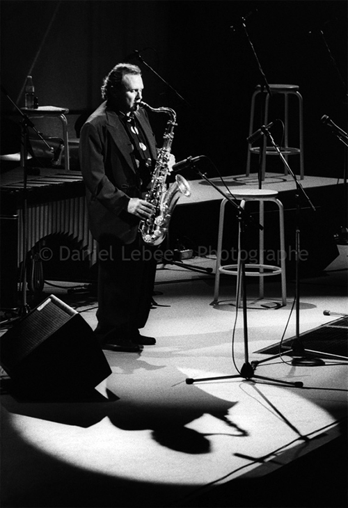 1989 - Jazz, Stan Getz, Halle That Jazz à la Villette