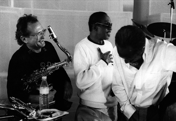 1989 - Jazz, Stan Getz Milt Jackson Percy Heath, Halle That Jazz à la Villette